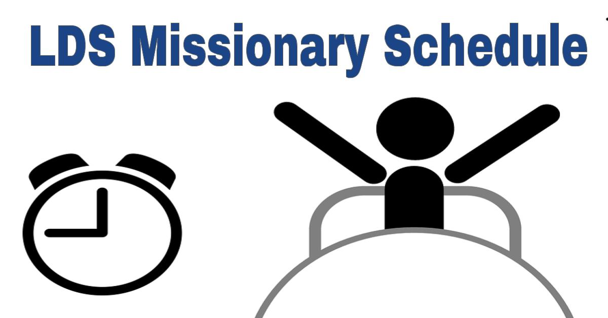 lds-missionary-schedule