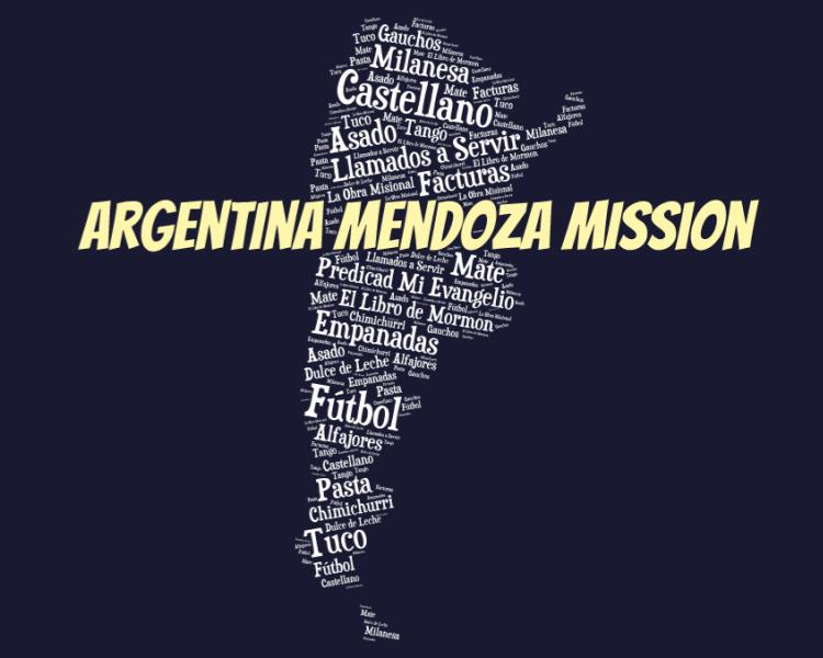 LDS Argentina Mendoza Mission logo tshirt