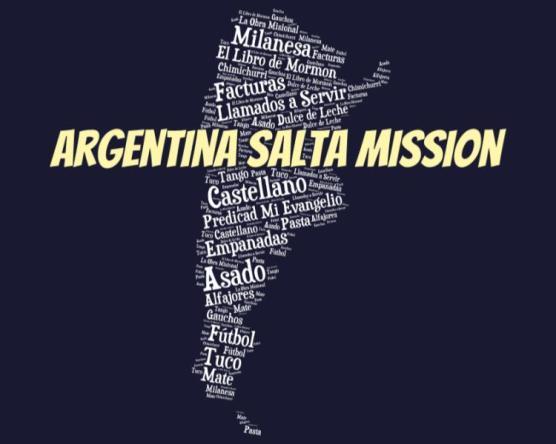 LDS Argentina SAlta Mission logo tshirt