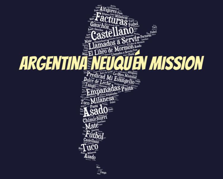 LDS Argentina Neuquen Mission logo tshirt