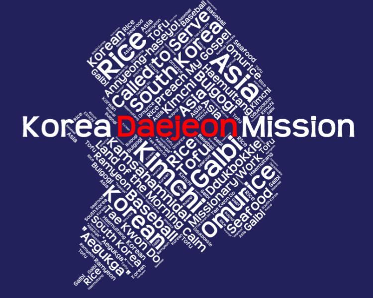 Korea Daejeon Mission LDS logo tshirt