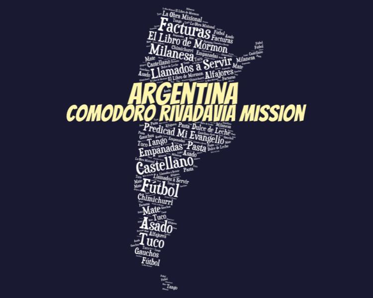LDS Comodoro Rivadavia Mission Logo Tshirt