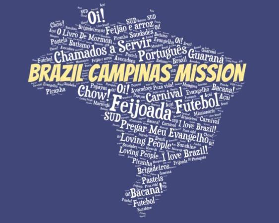LDS Brazil Campinas Mission logo tshirt