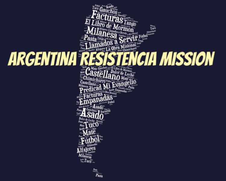 LDS Argentina Resistencia Mission logo tshirt