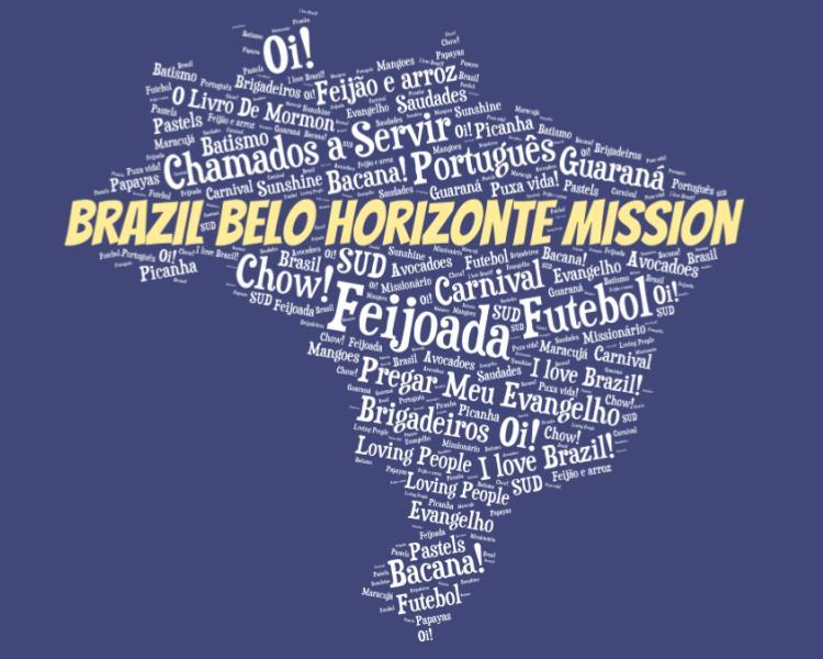 LDS Brazil Belo Horizonte Mission logo tshirt