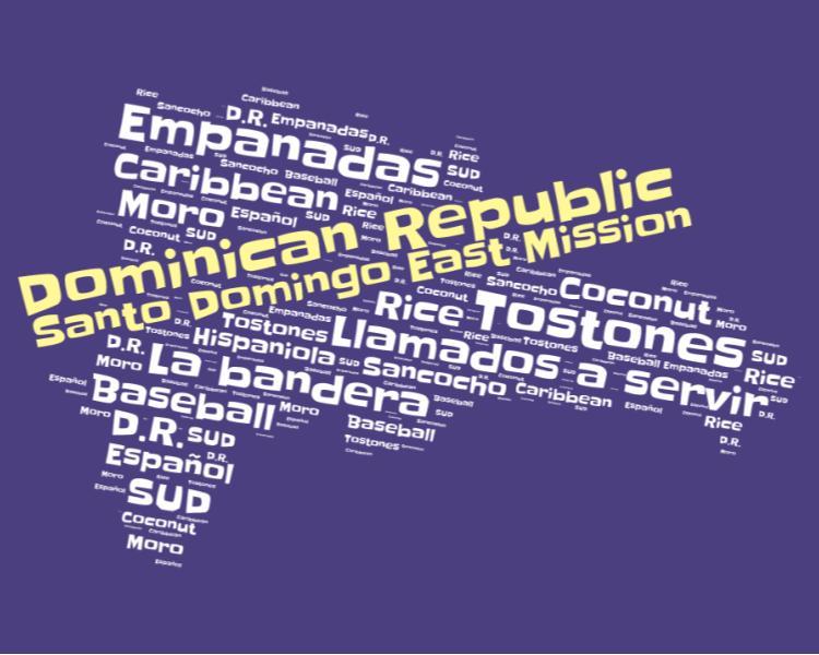 Santo Domingo East Mission LDS logo