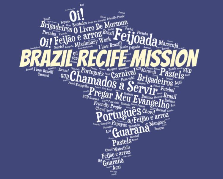 LDS Brazil Recife Mission logo