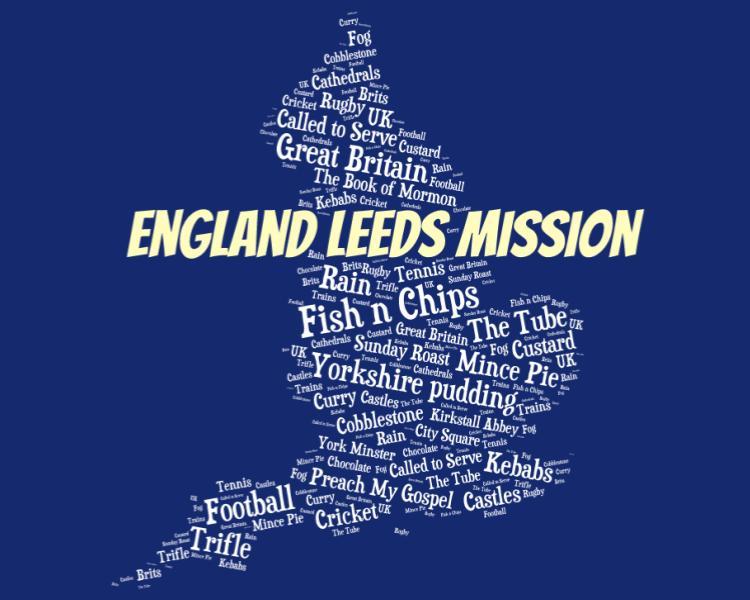 England Leeds Mission LDS Logo