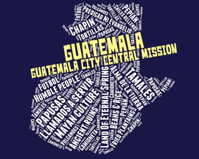 Guatemala City Central Mission LDS logo