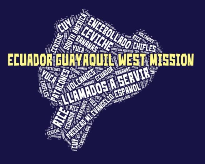 Guayaquil West Mission LDS logo