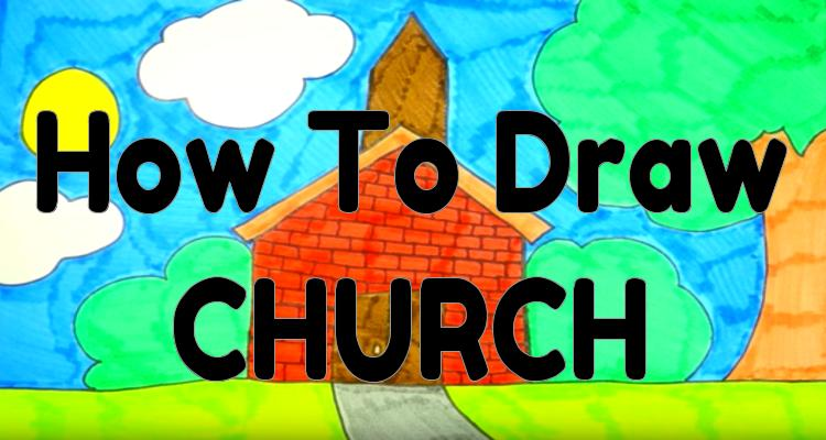How To Draw a church