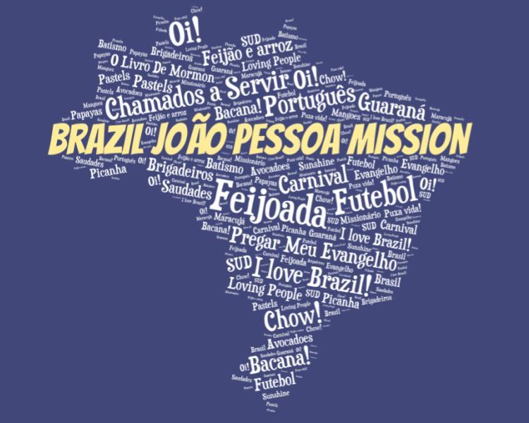 LDS Brazil Joao Pessoa Mission logo tshirt