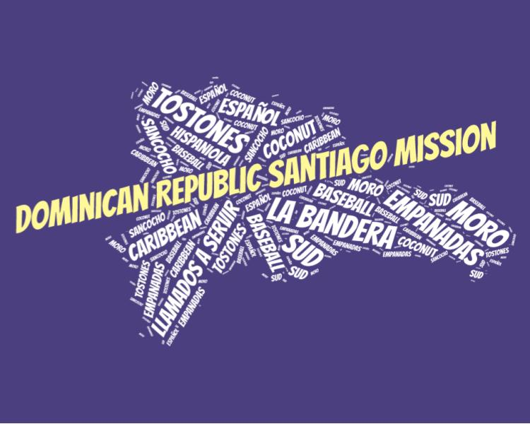 DOminican Republic Santiago Mission LDS logo