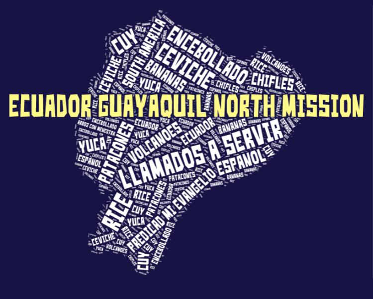 Guayaquil North Mission LDS logo