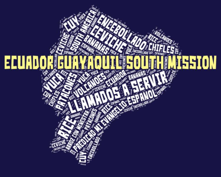 Ecuador Guayaquil South Mission LDS logo