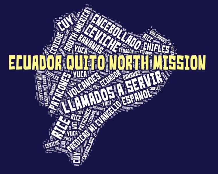 Ecuador Quito North Mission LDS logo