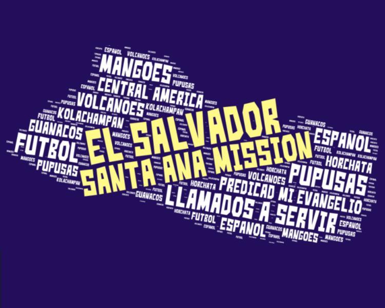 El Salvador Santa Ana Mission LDS Logo
