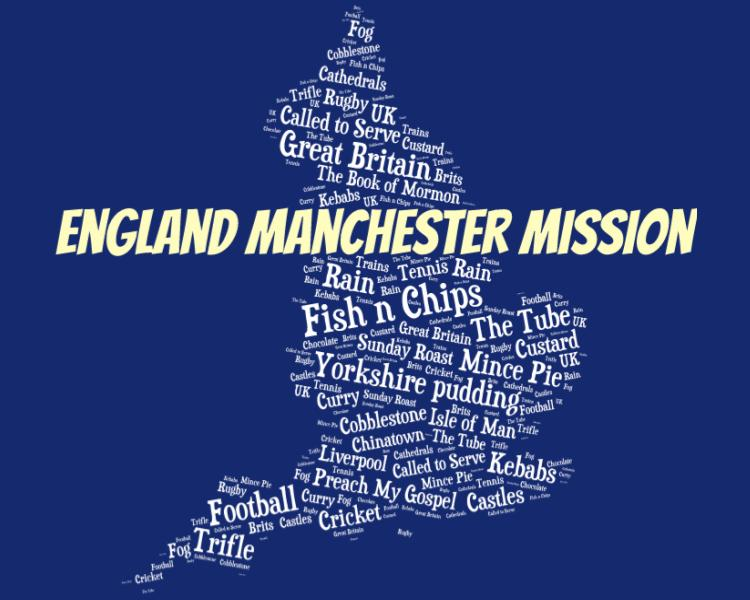 England Manchester Mission LDS Logo