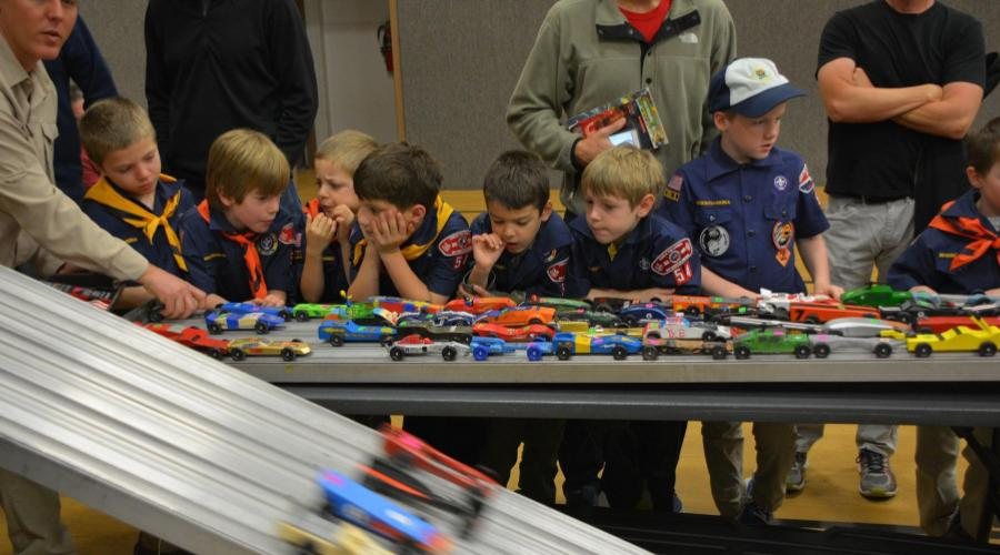 cub scouts derby pinewood